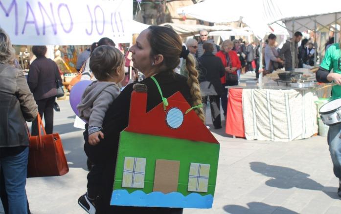 La casa en la espalda